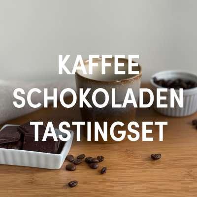 Tastingset Kaffee & Schokolade