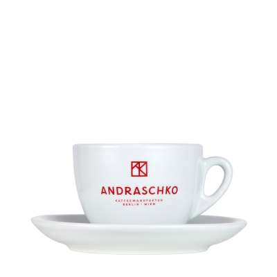 Andraschko Cappuccinotasse mit Untertasse