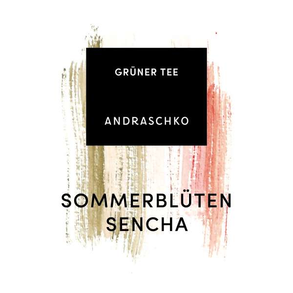 SOMMERBLÜTEN SENCHA flavoured green tea