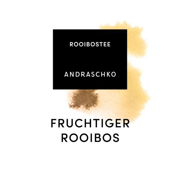 FRUCHTIGER ROOIBOS flavoured
