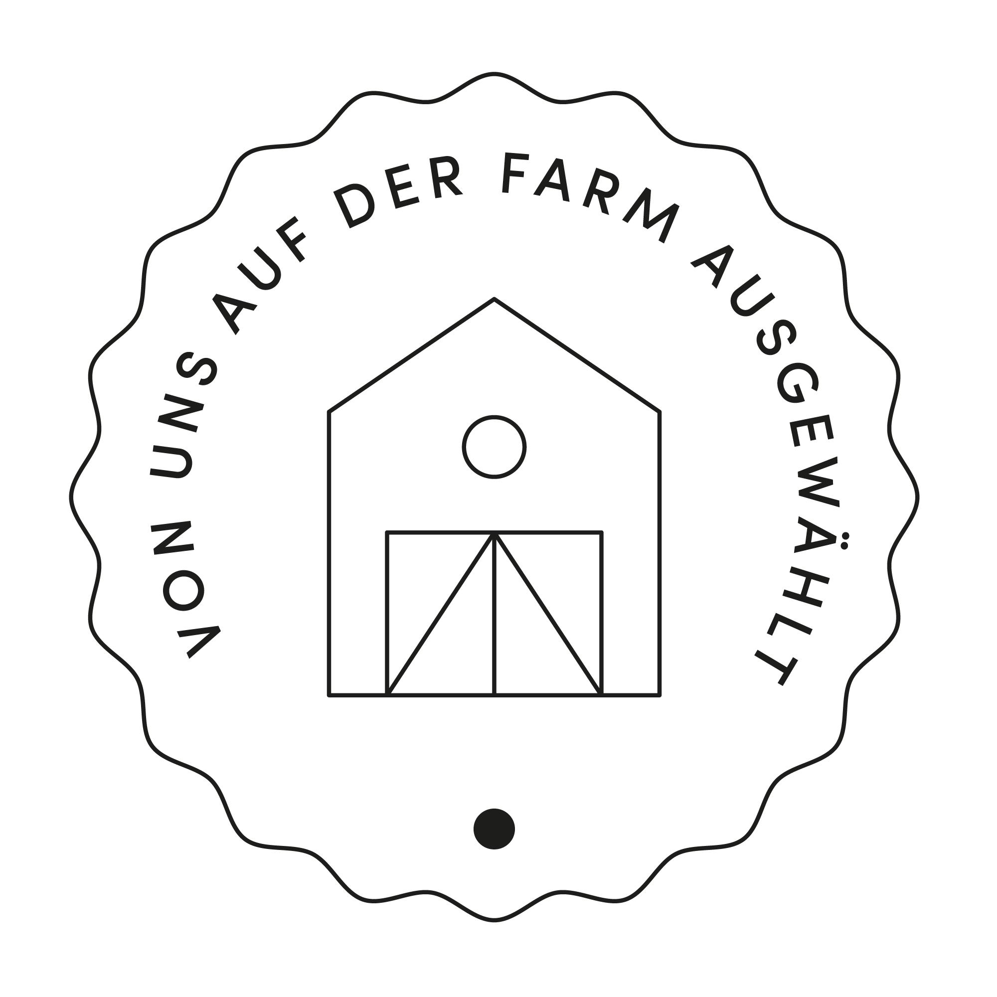 Siegel auf der Farm ausgewählt