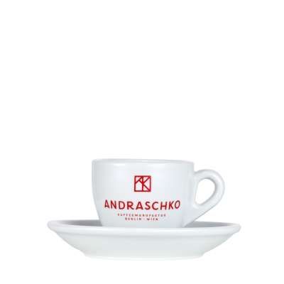 Andraschko Espresso Cup with Saucer