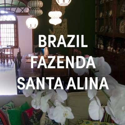 Brazil Fazenda Santa Alina Single Origin Espresso