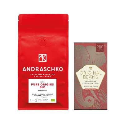 Pure Origins BIO Espresso Blend & Udzungwa 70%