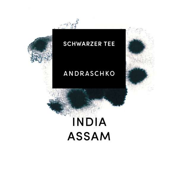 INDIA ASSAM Schwarzer Tee second flush