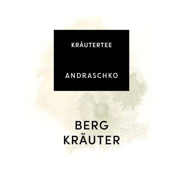 BERGKRÄUTER Kräutertee frisch